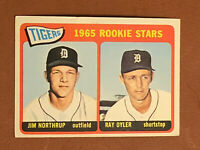 1965 Topps Tigers Rookie Stars Jim Northrup, Ray Oyler RC EX Card #259
