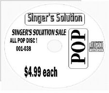 Singers Solution POP  #030-SALE 9-SONGS-Happy-Talk Dirty-Let it Go-Team-