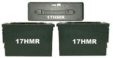 "17 HMR Ammo Box(decals) Two 5""x1.5"" One 2.5""x0.75"" No Box Included"