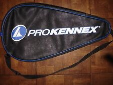Two (2) Pro Kennex Racquetball Full Racquet Cover - Case With Shoulder Strap
