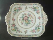 Ming Rose Serving Plate with Decorative Ear Handles Foley Bone China