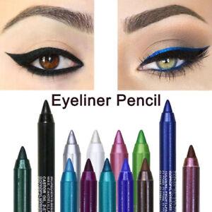 Colors Pearl Eyeliner Eye Pen Liner Waterproof Long-lasting Eye Shadows Pencil0E