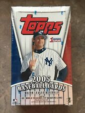 2005 Topps Factory Sealed Series 1 Baseball Cards Hobby Box Unopened 36 packs 6A
