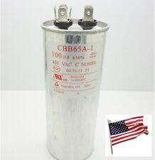 AC450V 100uF 50/60Hz Metallized Polypropylene Film Motor Capacitor CBB65A CBB65