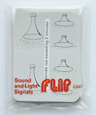 Marine Flip Cards - Sound and Light Signals, great for RYA training courses