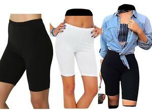 New Ladies Lycra Cotton Cycling/Dancing Shorts Leggings Women Casual Shorts