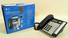 AT&T 1040 4-Line Expandable Corded Phone System w/ Speakerphone Black/Silver