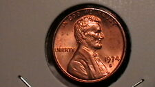 1974-S BRILLIANT UNCIRCULATED BLAZING RED CENT!     RLL