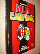 BOOK OFFICIAL AC MILAN CAMPIONE 2010-2011 PANINI 18 NEW