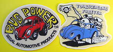VW Bug Power vintage style Stickers Decals Beetle Camper VOLKSWAGEN HOT RAT ROD