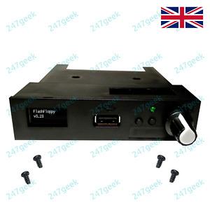 BLACK USB GOTEK floppy emulator FlashFloppy drive with OLED Rotary encoder sound