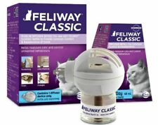 Feliway Classic Plug-In Diffuser Device & Refill 30 Day Starter Kit for Cats