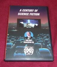 A Century of Science Fiction RARE OOP DVD hosted by Christopher Lee, 2 hours