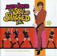 AUSTIN POWERS - THE SPY WHO SHAGGED ME - MUSIC FROM THE MOTION PICTURE / CD
