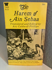 THE HAREM OF AIN SEBAA -Caldwell Phillips- Vintage Paperback Erotic - Tower 1969