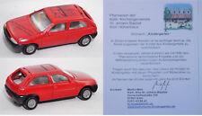 Siku Super 0845 Ford Fiesta 1.3 i, St. Johann Baptist, ca. 1:55, Werbemodell