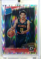 2018 18-19 OPTIC Shock Prizm Trae Young Rookie RC #198, RATED ROOKIE Refractor