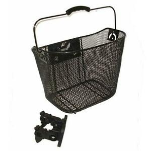Bicycle Quick Release Front Bike Basket For Extra Storage Road Hybrid MTB