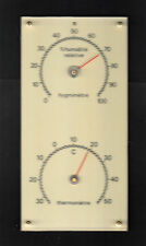 Uralt + OVP 50er Jahre Hygrometre + Thermometre Station, Thermometer Hygrometer