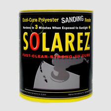 Solarez Uv Cure Vinyl Ester Epoxy Sanding Resin Gallon