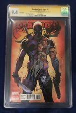 Deadpool vs X-Force 1 Signed by Ryan Reynolds, Tim Miller, Stan Lee - CGC 9.4