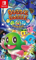 Bubble Bobble 4 Friends Nintendo Switch Japanese Ver. F/S Tracking NEW