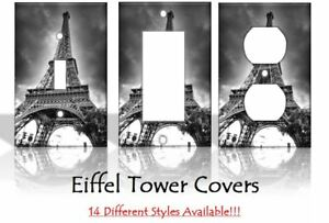 Eiffel Tower Paris France Light Switch Covers Home Decor Outlet