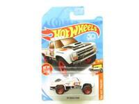 Hotwheels 87 Dodge D100 White HW Hot Trucks 275/365 Long Card 1 64 Scale Sealed