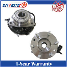 Pair(2)New Premium Front Wheel Hub & Bearing w/ABS FOR 2002-2009 GMC CHEVY