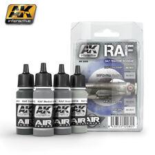 AK ACRYLIC PAINT SET RAF DAY FIGTHER SCHEME