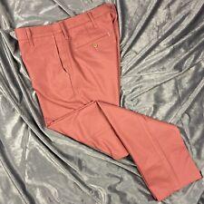 Epaulet Nantucket Red Chino Pants sz 33