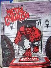 Metal Church  -  (linen patch)