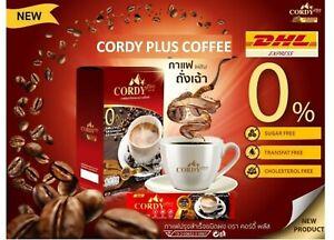 8X Cordy Plus Coffee Cordyceps Natural Ganoderma Herb Ginseng No Sugar Arabica
