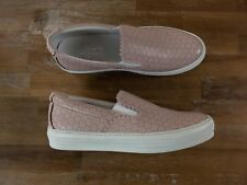 SALVATORE FERRAGAMO Pacau Lace pink leather sneakers Size 9 US / 39.5 EU / 7 UK