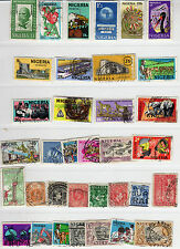 NIGERIA STAMP Collection, used