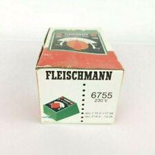 Fleischmann 6755 MSF-Regel-Trafo mit OVP funktioniert RAR TOP