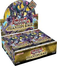 Yugioh Phantom Rage Factory Sealed Booster Box 1st Edition Ships TODAY!