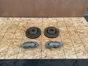 FORD MUSTANG GT 2015-2021 OEM FRONT LEFT AND RIGHT BRAKE CALIPERS W/ ROTORS. 62K
