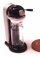 1:12 Scale Dolls House Miniature Cafe Kitchen Accessory Black Soda Drink Machine