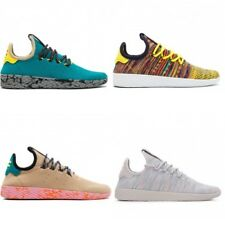 adidas Originals Pharrell Williams Tennis Hu Trainers In Teal