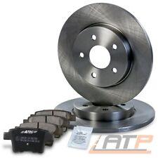 2x Bremsscheiben 09.04 Beläge hinten für Ford Mondeo III MK3 TDCI Kombi bis Bj