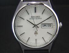 Vintage Grand Seiko Quartz Precision 1977 Men's Watch Day/Date indicator 4843