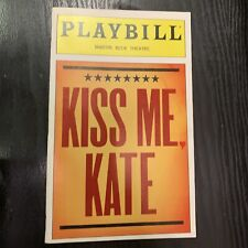 KISS ME KATE October 1999 Broadway Playbill! BRIAN STOKES MITCHELL Marin Mazzie