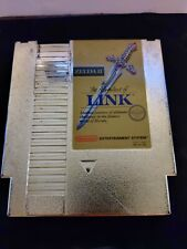 Zelda II: The Adventure of Link Gold (Nintendo Entertainment System, 1988) retro