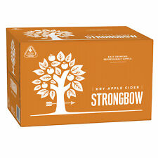 Strongbow Crisp Apple Cider Case 24 x 355mL Bottles