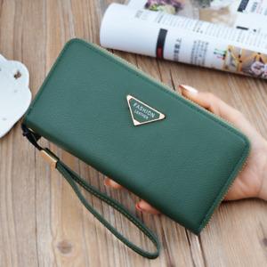 Faux Long Women Leather Wallet Envelope Clutch Card Holder Zipper Purse Handbag