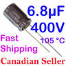 2pcs 6.8uF 400V 10x16mm 105C Nichicon CY For Power Supply TV LCD AUDIO LED VIDEO