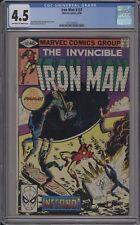 Iron Man #137 / Cgc 4.5 / _Bronze Age _ / 1231527019