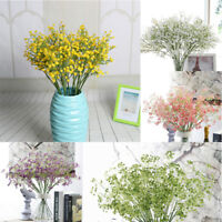 Artificial Fake Babys Breath Gypsophila Silk Flowers Bouquet Home Wedding Gift