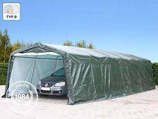 Zeltgarage 3,30x9,30 m Garagenzelt Carport Zelt Weidezelt Lagerzelt PE grün NEU